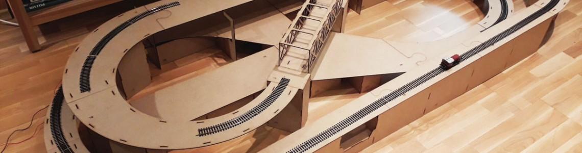 Trenuletele tale au acum o diorama!
