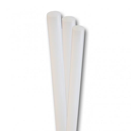 Set 16 baghete adeziv, pentru lipire, transparent, 7 mm