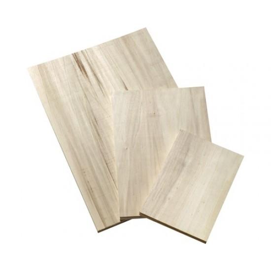 Placaj din lemn de plop format A4, grosime 4mm