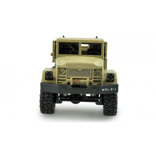 Camion militar B-16 galben 1:16, 4x4, varianta KIT
