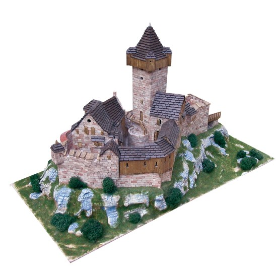 kit de constructie macheta Burg Falkenstein