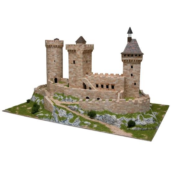 macheta de construit Castelul Foix