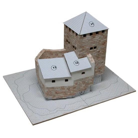 kit de constructie macheta Burg Grenchen