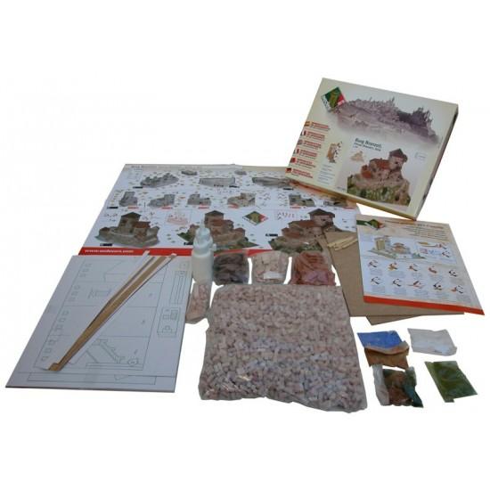 kit de constructie macheta Burg Branzoll