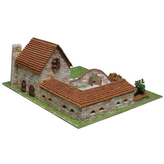 Ferma, kit de construit cu piese ceramice