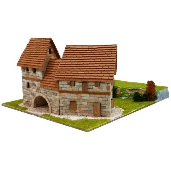 Locuinte rurale, kit de construit cu piese ceramice