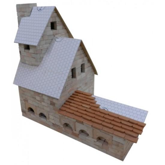 Fierarie cu punte, kit de construit cu piese ceramice