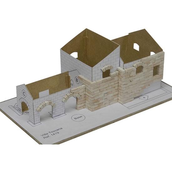 Kit constructie piese ceramice vila toscana
