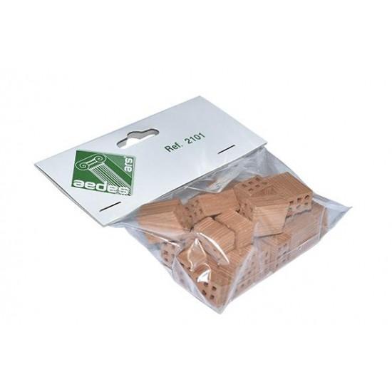 Caramizi ceramica AedesArs scara 1:10 - jumatati (25 buc)