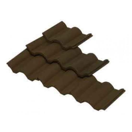 Placi ceramice acoperis, negru, AedesArs scara 1:10 (100 buc)