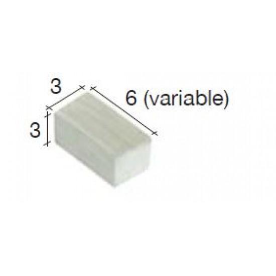 Caramizi ceramica AedesArs 3 x 3 mm (500u)
