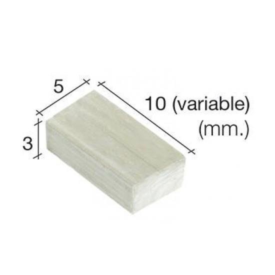 Caramizi ceramica AedesArs 5 x 3 mm (500u)