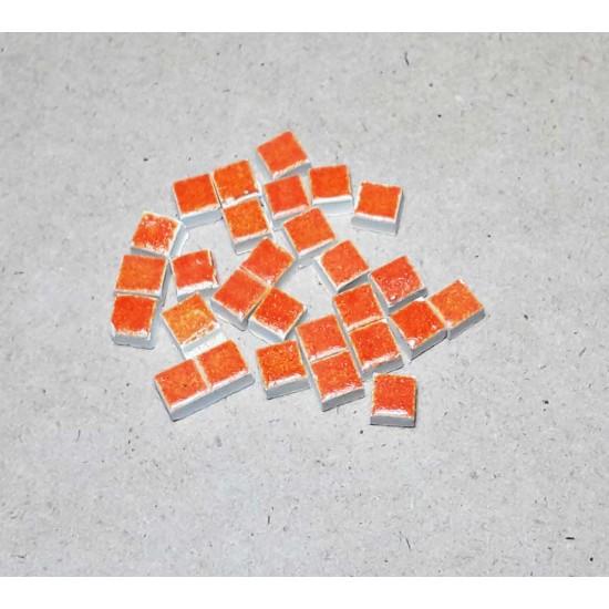 Mozaic portocaliu 5x5mm