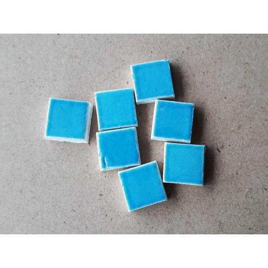 Mozaic albastru deschis 10x10mm