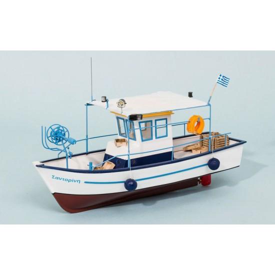 Nava de pescuit Santorin