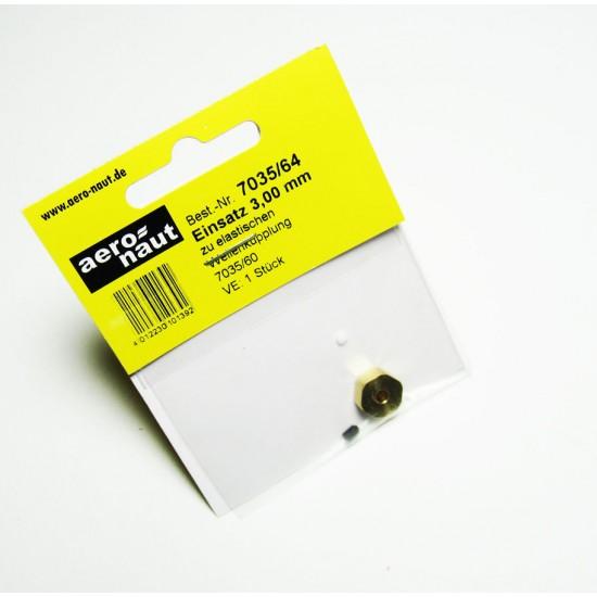 Stift cuplaj elastic pentru navomodele, 3,0 mm