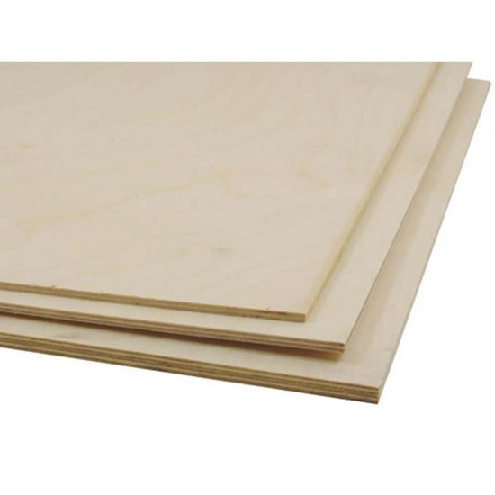 Placaj de mesteacan 0.8 x 304 x 304 mm