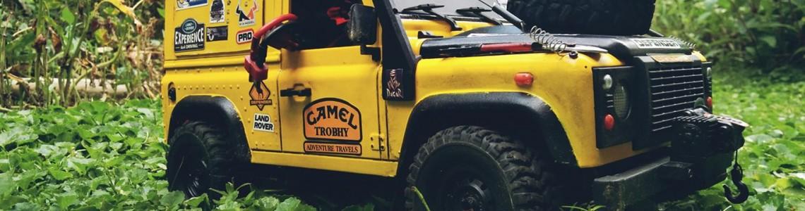 Printeaza 3D accesorii pentru Land Rover-ul tau!
