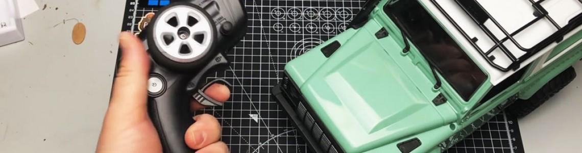 Construieste un Defender radiocomandat