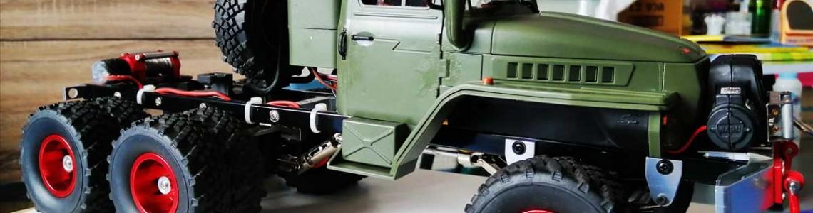 Tuning pentru camioanele militare de la WPL