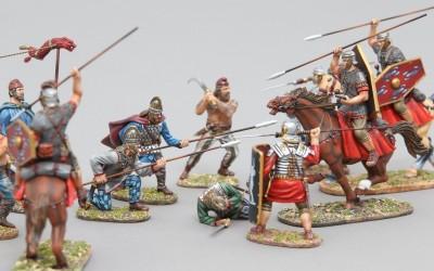 Dacii și Romanii - miniaturi de la Warlord Games