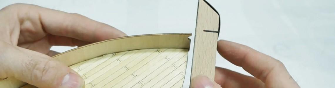Tehnici la minut - scandurile bordajului