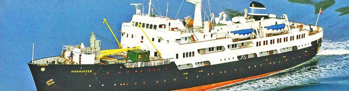 Modell-Tec M/S Finnmarken la scara 1:60