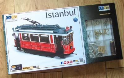 Construiește macheta tramvaiului Istanbul la scara 1:24