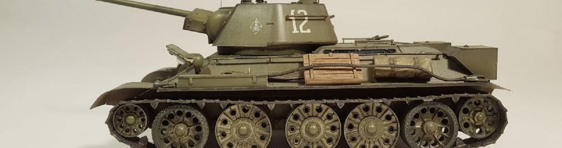 T34 - construieste legenda!