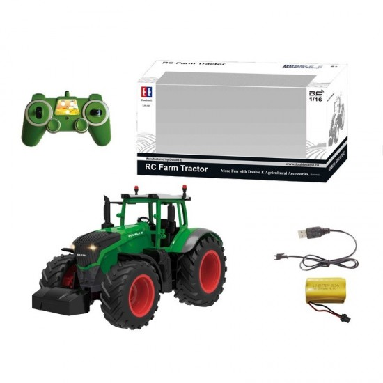 Tractor RC 1:16, 2.4GHz, RTR