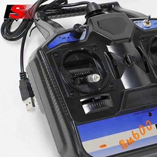 Consola simulator FlySky SM600 6 canale