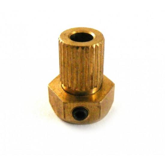 Racord 2 mm pentru cuplaj cardanic