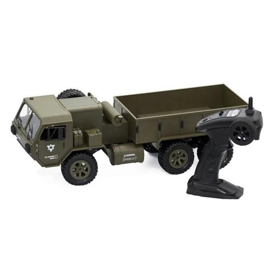 Camion militar P801 1:16, 6x6, 2,4 GHz, RTR - verde