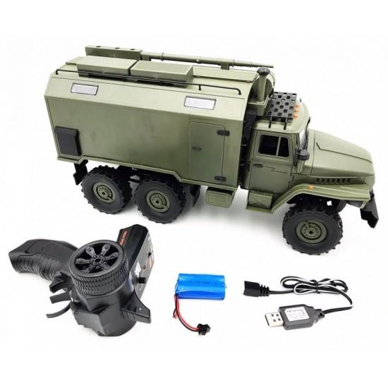 Camion militar cu telecomanda WPL B-36 URAL (1:16, 6WD, 2.4G)