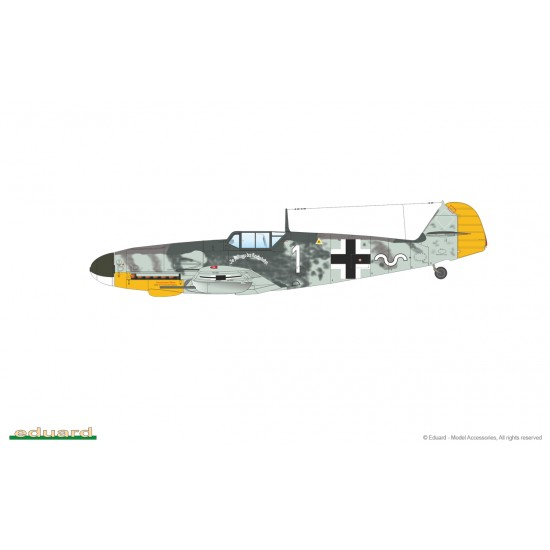 Pachet promotional Bf 109G-4 si Spitfire LF Mk.IXc Weekend Edition, scara 1:48