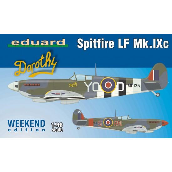 Spitfire LF Mk.IXc Weekend Edition, scara 1:48
