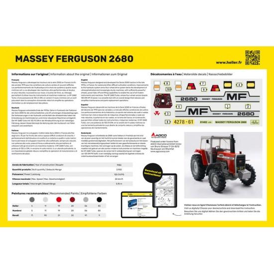 Massey Ferguson 2680 la scara 1:24
