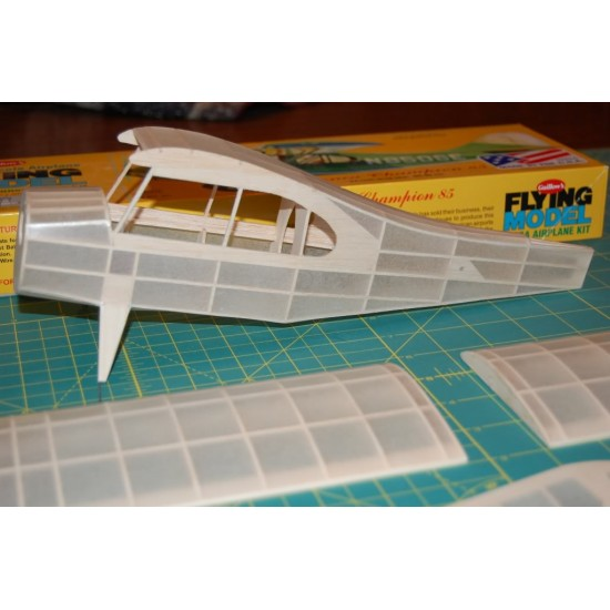 Aeromodel Aeronca de la Guillows