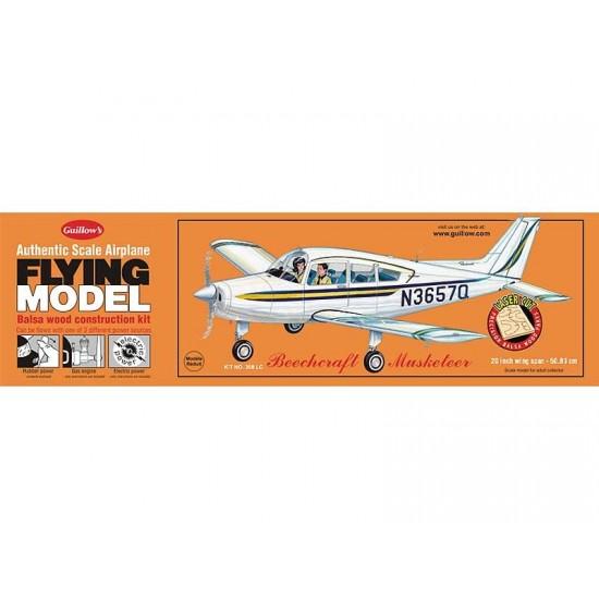 Aeromodel Beechcraft Musketeer de la Guillows