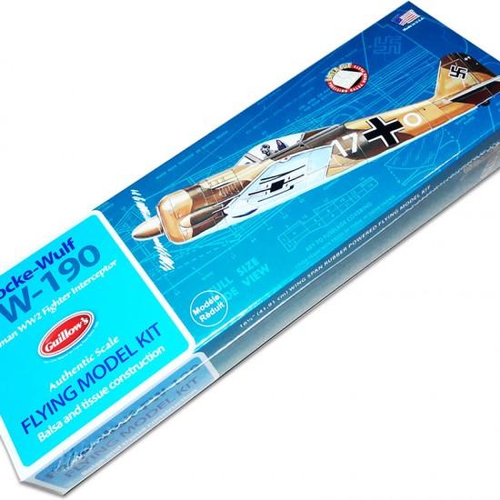 Aeromodel FOCKE-WULF de la Guillows