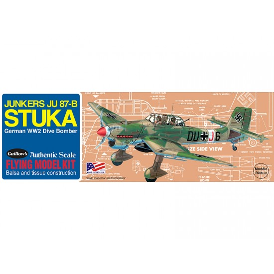 Aeromodel JU 87 Stuka de la Guillows