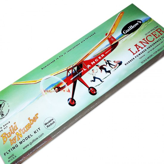 Aeromodel Lancer de la Guillows