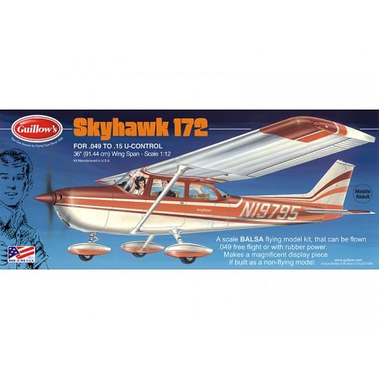 Aeromodel Cessna Skyhawk de la Guillows