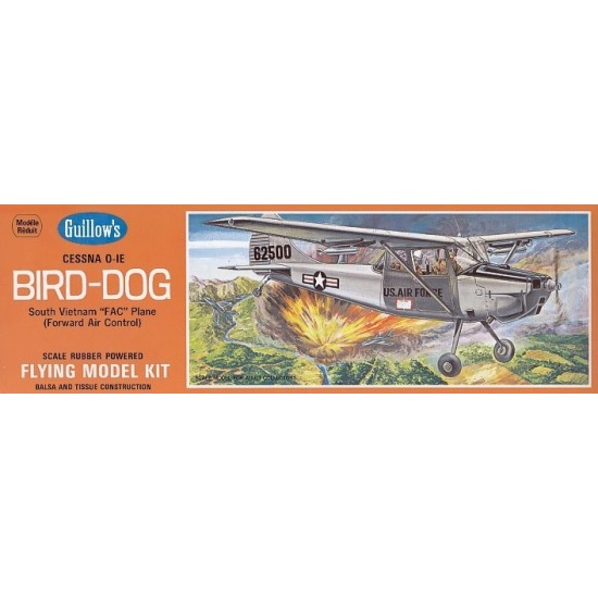 Aeromodel Cessna Bird Dog de la Guillows