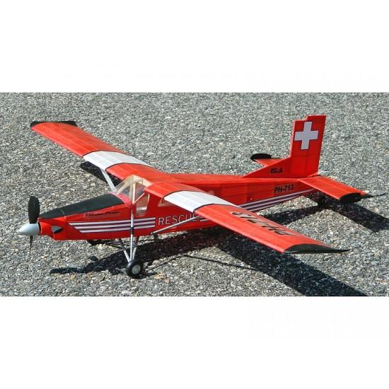 Aeromodel PC6 Porter de la Guillows