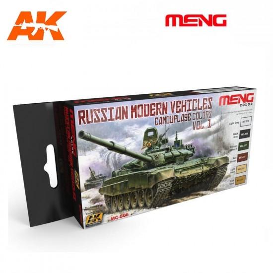 Set de culori pentru vehicule militare rusesti