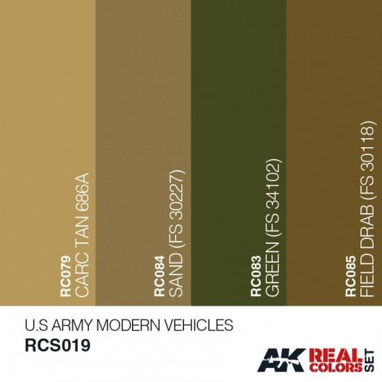 Set de culori vehicule militare US Army