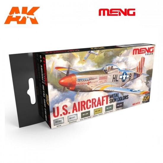Set de culori metalice pentru US Aircraft