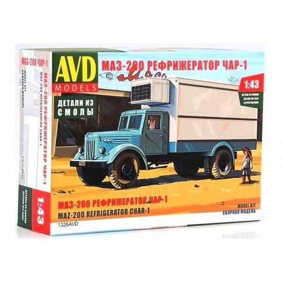Camion frigorific MAZ-200, scara 1:43