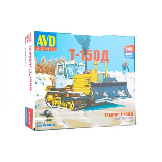 Buldozer T-150 , scara 1:43